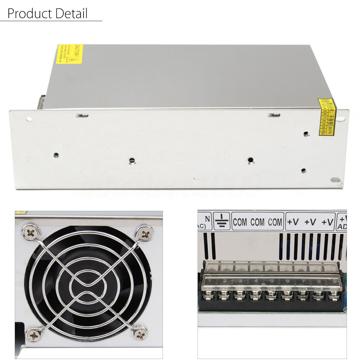 48V 20A 1000W Universal Regulated Switching Power Supply Driver for CCTV camera LED Strip AC 100-240V Input to DC 48V by Xunba Tech (Image #3)