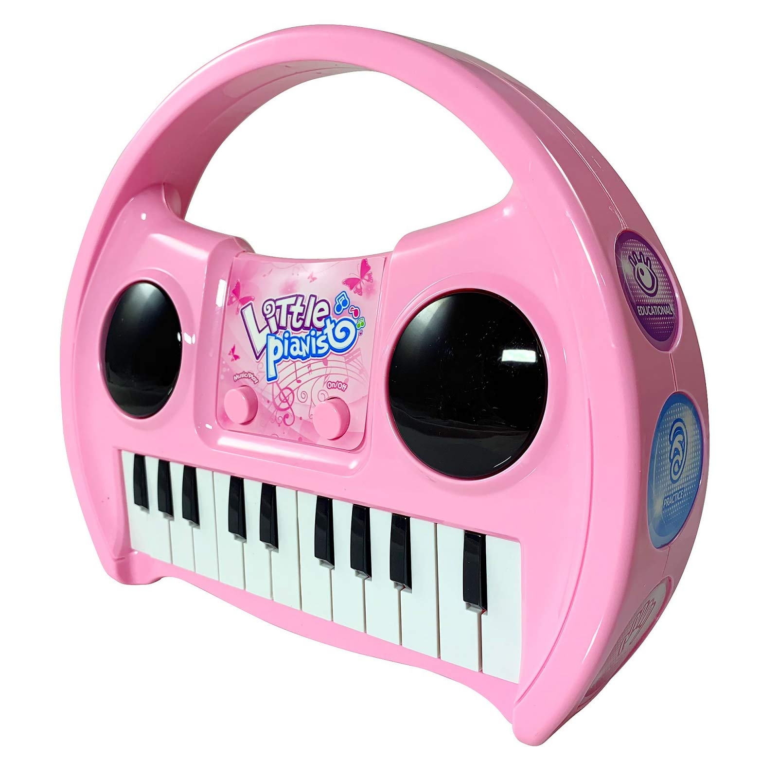 KidPlay Products Little Pianist Singing Musical Karaoke Lights Up Keyboard by KidPlay Products (Image #5)