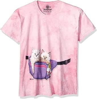 The Mountain Womens Fanny Pack Kittens Short Sleeve T-Shirt