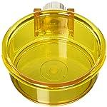 First Prize Pets SmartCrock Bird Bath, Yellow/Clear