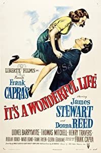 """Posters USA - It's a Wonderful Life Movie Poster GLOSSY FINISH - MOV901 (24"""" x 36"""" (61cm x 91.5cm))"""
