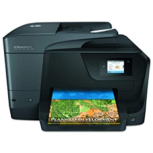 HP OfficeJet Pro 8710 All-in-One Wireless Printer, HP Instant Ink & Amazon Dash Replenishment ready (M9L66A)