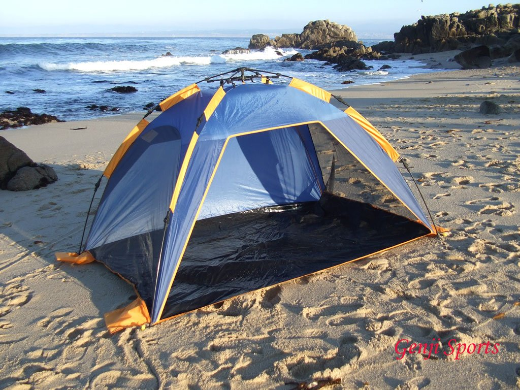 & Amazon.com: Push up instant Beach Tent Beach: Sports u0026 Outdoors