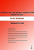 Lettere ad Abraham Arden Brill (1908-1939). Testo italiano