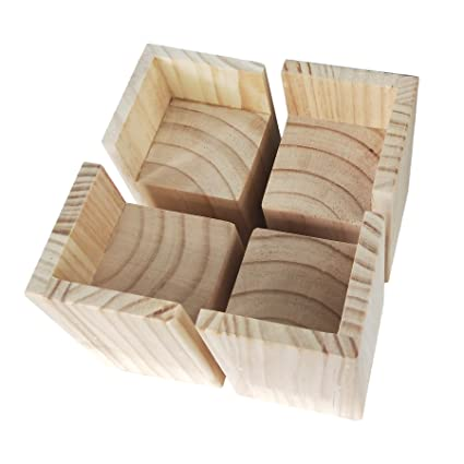Solid Wood Lift Furniture Risers Bed Risers Furniture Moisture