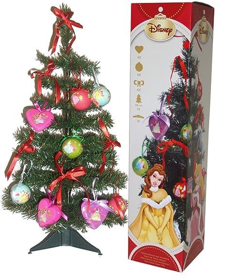 Addobbi Natalizi Disney.Principesse Disney Albero Di Natale Con Decori 3158 Amazon It