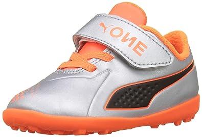 Puma One 4 Syn TT V Inf, Chaussures de Football Mixte Enfant