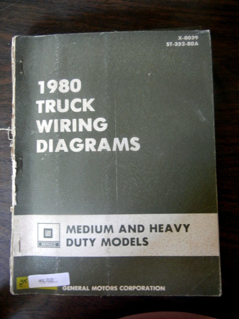 Heavy Duty Truck Wiring Diagrams Electrical Schematics 1990 Chev P30 Diagram 1980 Gm Chevy Medium Manual Ford Mack