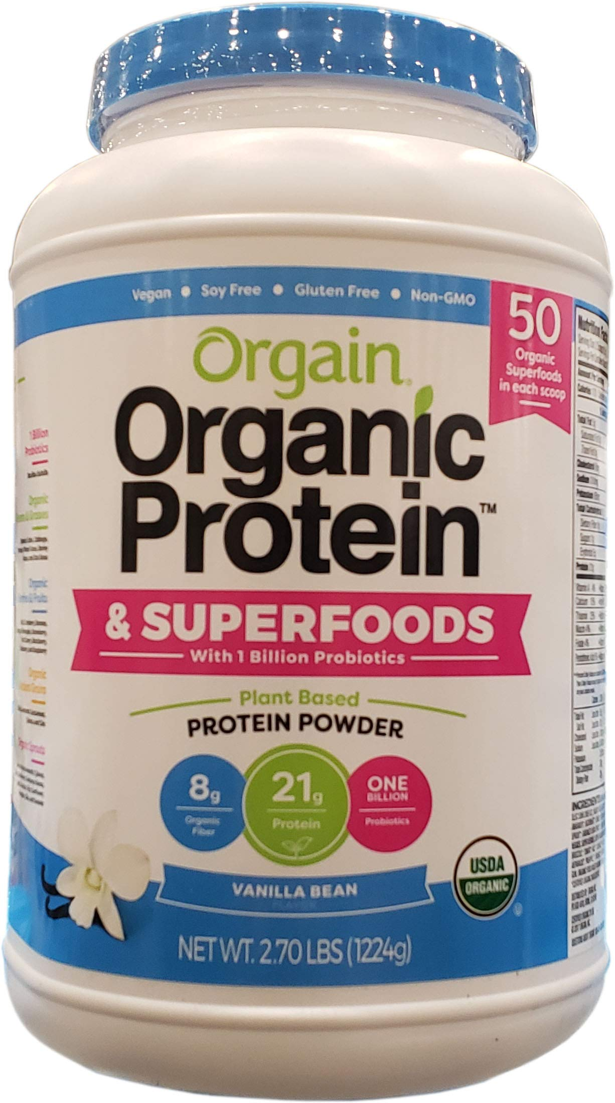 Orgain Organic Protein And Super Foods, 2.70 Pound by Orgain