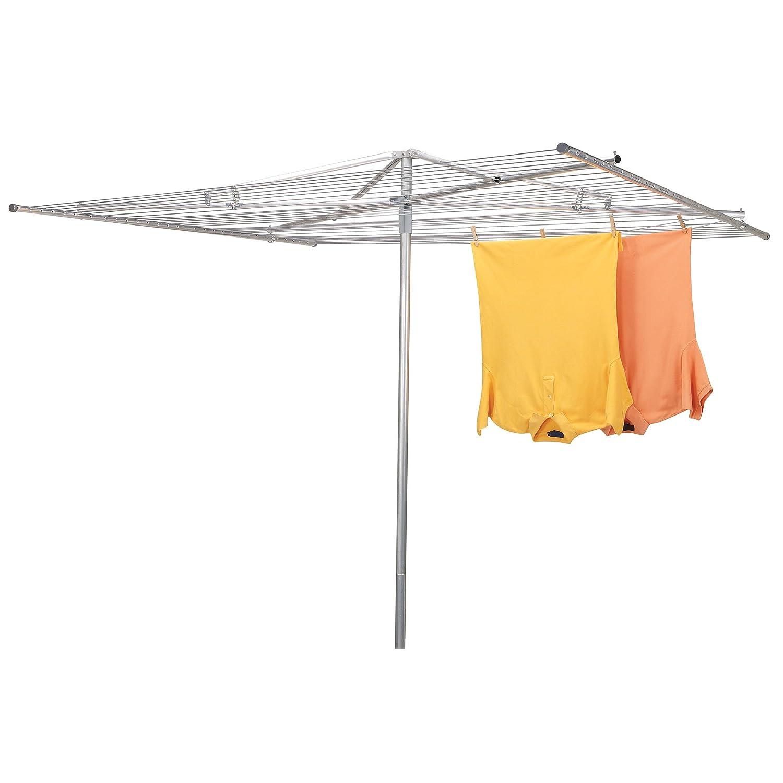Household Essentials Umbrella Aluminum Clothesline Image 2