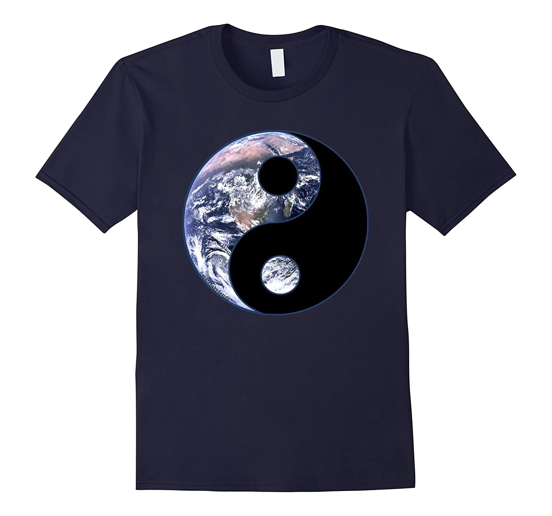 Yin Yang Tee with Earth Tshirt for Balance-CL