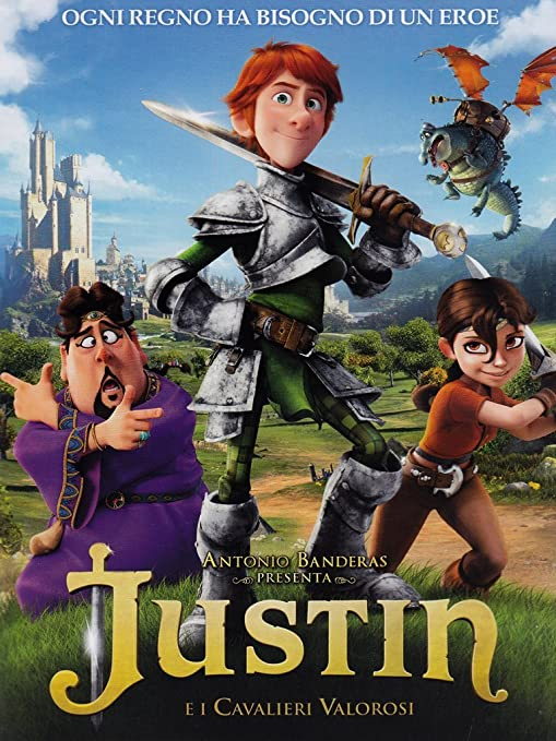 Justin e i cavalieri valorosi: amazon.it: cartoni animati: film e tv