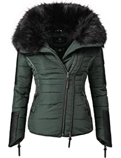 3dbb15d3c272 Navahoo Damen Jacke Winterjacke Steppjacke Yuki2 (vegan hergestellt) 8 Farben  XS-XXL