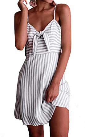 8a6e19f447d1 Relipop Summer Fashion Women Casual Dress Sleeveless Mini Short Dresses  (Small
