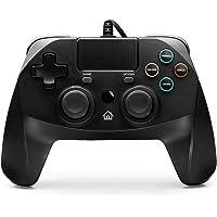 snakebyte GAMEPAD 4S - zwart - Controller voor PlayStation 4 / PS4 Slim / Pro / PS3, analoge dubbele joysticks, pc…