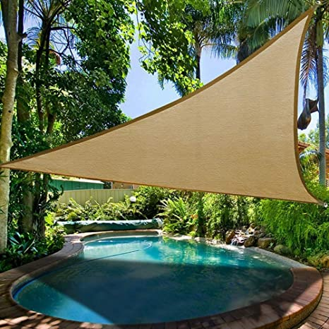 Amazon.com : MOKACOCA Sun Shade Sail Garden Patio Swimming ...