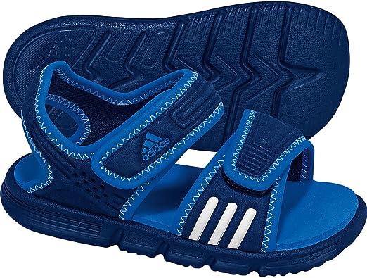 Serafín Cortés Lugar de la noche  adidas - Sandalias Deportivas para niño, Color Azul, Talla 25 EU: Amazon.es:  Zapatos y complementos
