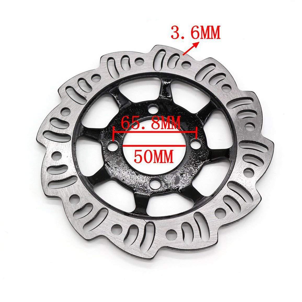 190 millimetri 50 millimetri Centro Pinza freno a disco rotore di pista sterrata Pit Bike 90 110 125 Motocross posteriore freno a disco