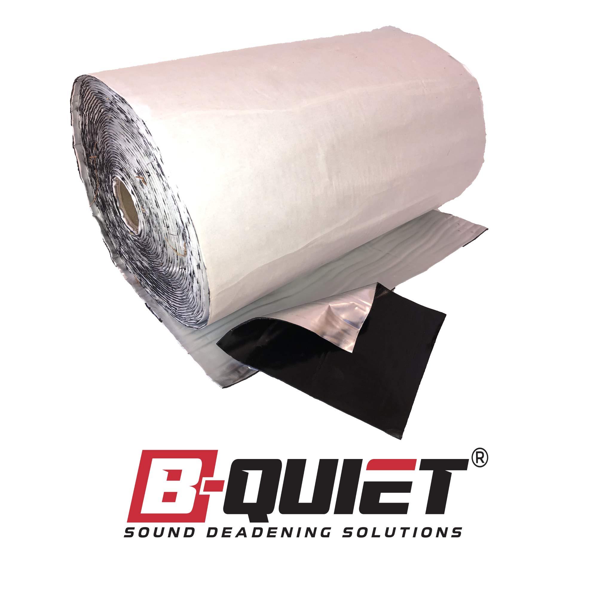 B-Quiet Ultimate The Best Viscoelastic Sound Deadener 12 Sq. Ft. Sound Deadening Sound Deampening Mat Car Sound Dampening Material Bulk Kit Trunk Hood Door Mats …
