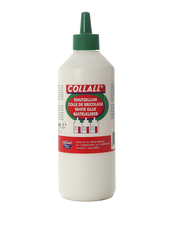 Collall PVA Whiteglue (Without Solvent) - 500ml, White, 21.1 x 6.1 x 6.1 cm COLKN500