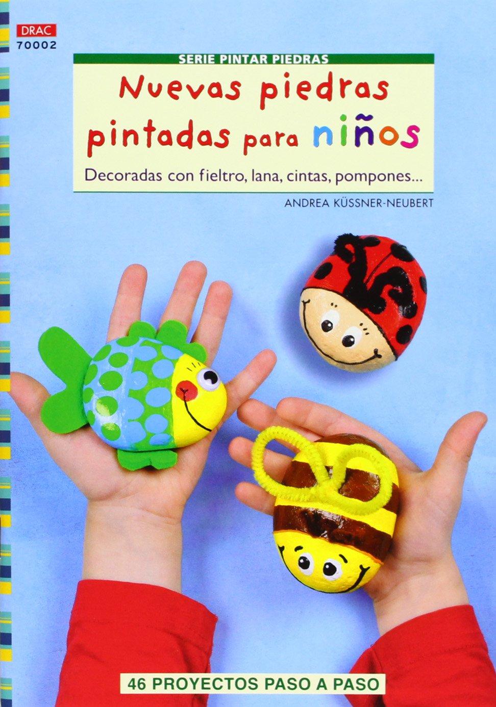 Nuevas piedras pintadas para niños (Spanish) Paperback – April 1, 2013