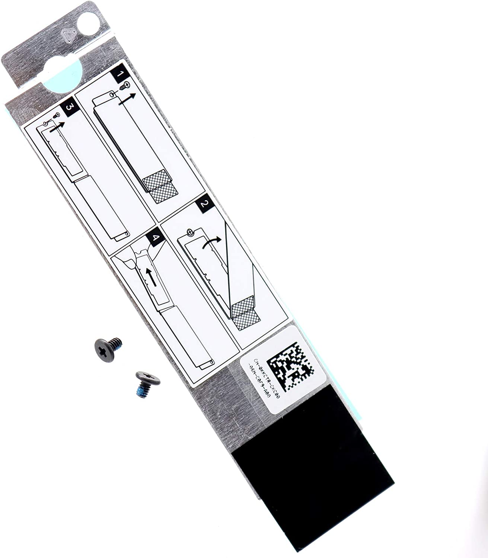 Deal4GO 2nd Second 2280 M.2 SSD Heatsink Hard Drive Cover Heat Shield for Dell G7 15 Gaming Laptop 7500 7700 0KKCTR KKCTR