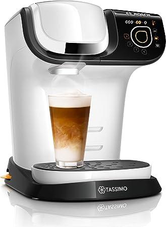 Bosch TAS6504 Tassimo My Way - Cafetera de cápsulas (más de 70 bebidas, personalizable, filtro de agua BRITA, 1500 W), color blanco: Amazon.es: Hogar