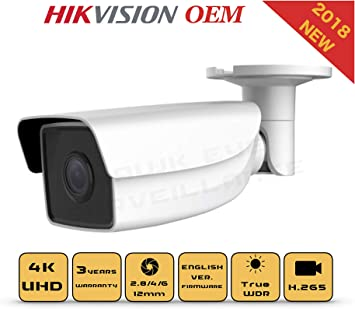 Hikvision OEM 4MM 8MP DS-2CD2085FWD-I IR SD Slot IP Security Bullet Camera H.265