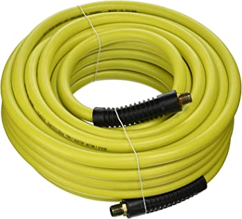 Campbell Hausfeld 50-Foot Hybrid Supraflex Air Hose With Bend Restrictors