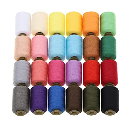 Amazon MILIJIA Sewing Threads 40 Colors Polyester Thread 40 Beauteous Polyester Thread For Sewing Machine