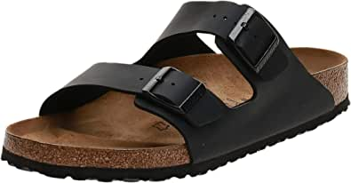 Birkenstock Women's Arizona Birko-Flo Black Sandals - 44 M EU