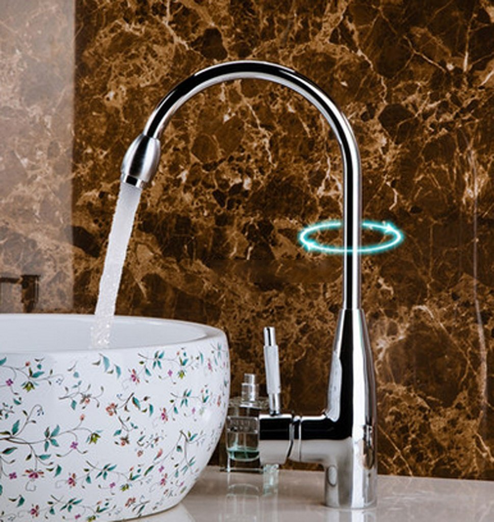 Heiße und kalte Hahn-Badezimmer-Bassin-Hahn-Badezimmer-Hahn-Edelstahl Handbasin Hahn