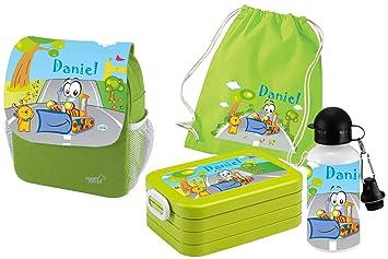 69727b4466c79d Mein Zwergenland Set 5 Kindergartenrucksack mit Brotdose Maxi ...