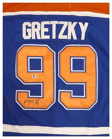 de0b24a6e89 Edmonton Oilers Wayne Gretzky Autographed Signed Authentic CCM Jersey -  Beckett Authentic