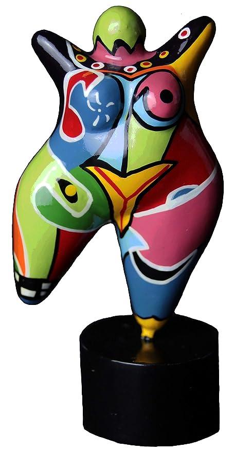 Hommage an Niki de Saint Phalle Skulptur Figur Dicke Frau Nana Molly mini