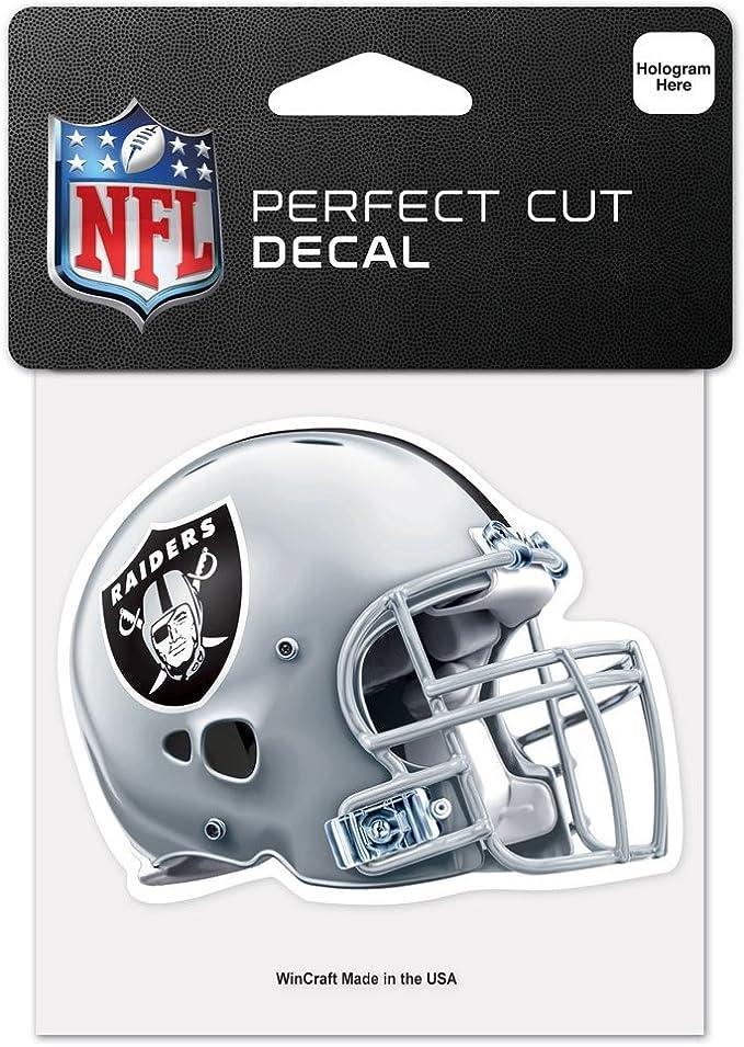 Wincraft Nfl Oakland Raiders 95763010 Perfect Cut Color Aufkleber 10 X 10 Cm Helm Edition Sport Freizeit