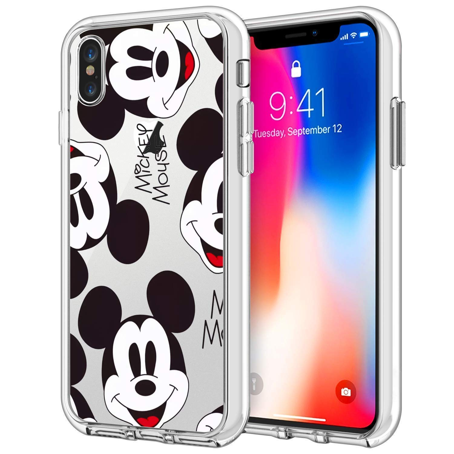 Amazon Com Disney Collection Cute Clear Mickey Mouse