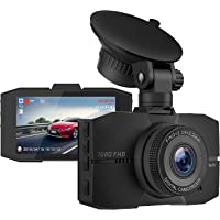 Campark Dash Cam 1080P FHD DVR Dashboard Camera for Cars 3 Inches LCD Screen with Super Night Vision 170°Wide Angle G-Sensor and 24H Parking Monitor