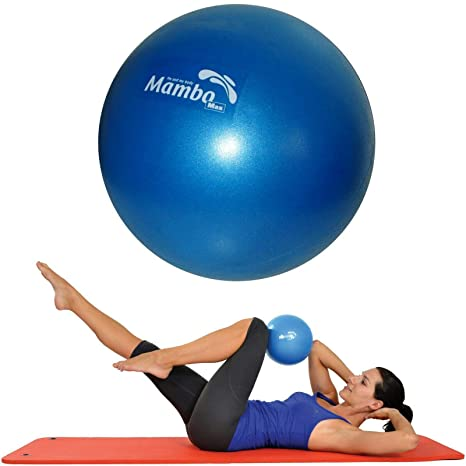 Msd BALÓN 26 CM SUAVE +2 Tapas +Paja de Pilates Gimnasia Yoga Gym ...