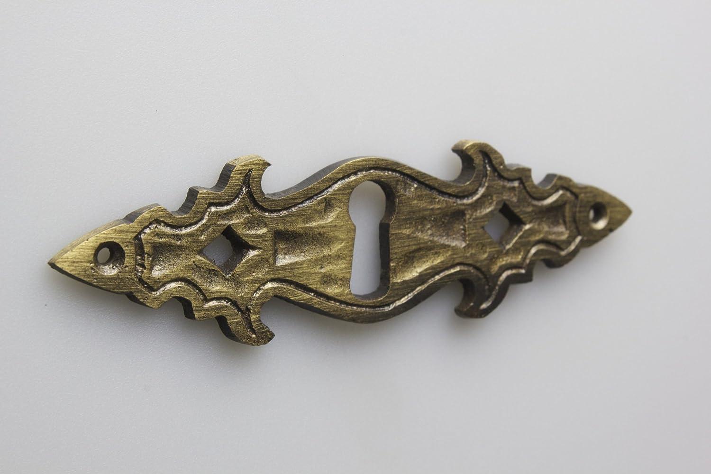 10 piezas escudo escudo de llave bocallave metal alta calidad bru/ñido refinado escudo de mueble