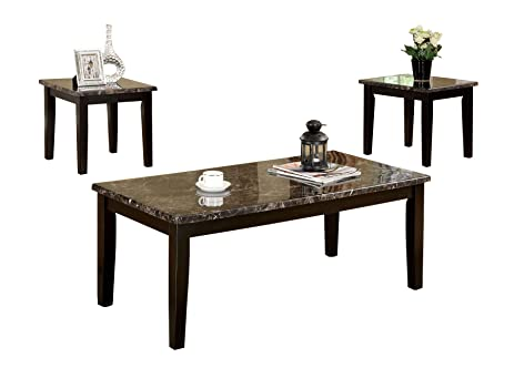 Travis Espresso Coffee Table Set