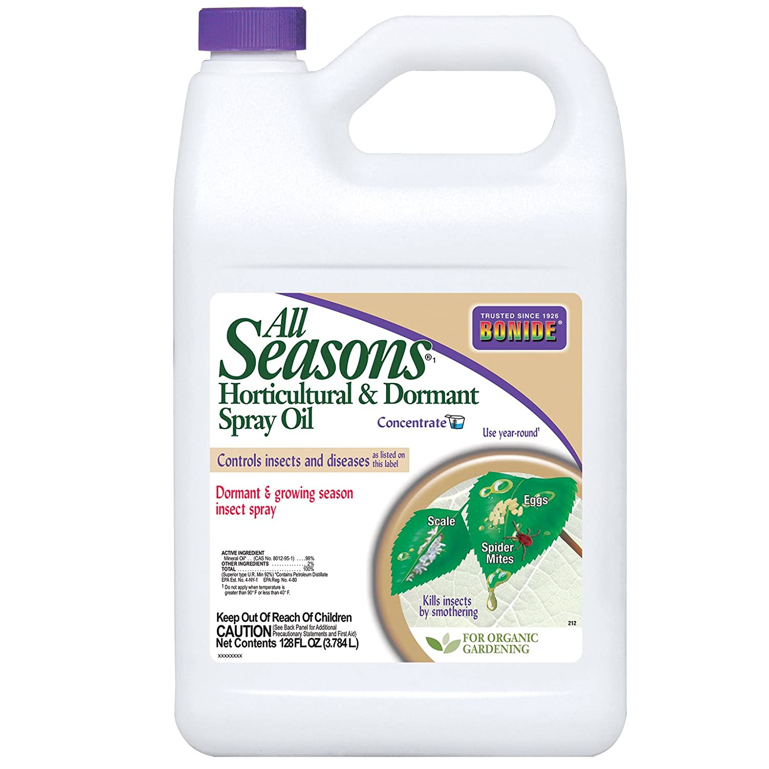 amazon com bonide 1 gallon all seasons concentrate pest control