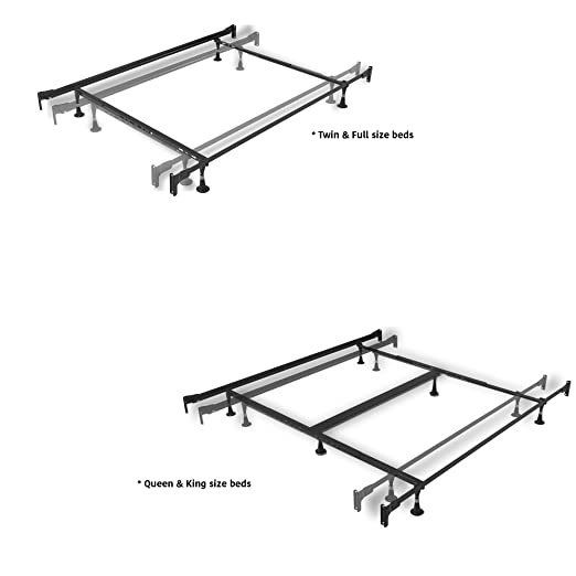 Amazon Leggett And Platt Consumer Products Group Inst A Matic Bed Frame With 4 Rug Rollers Full Kitchen Dining