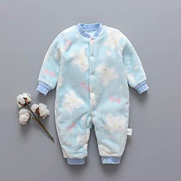 US Bear Baby Newborn Infant Cotton Organic Soft Nightgown Sleepwear One Piece
