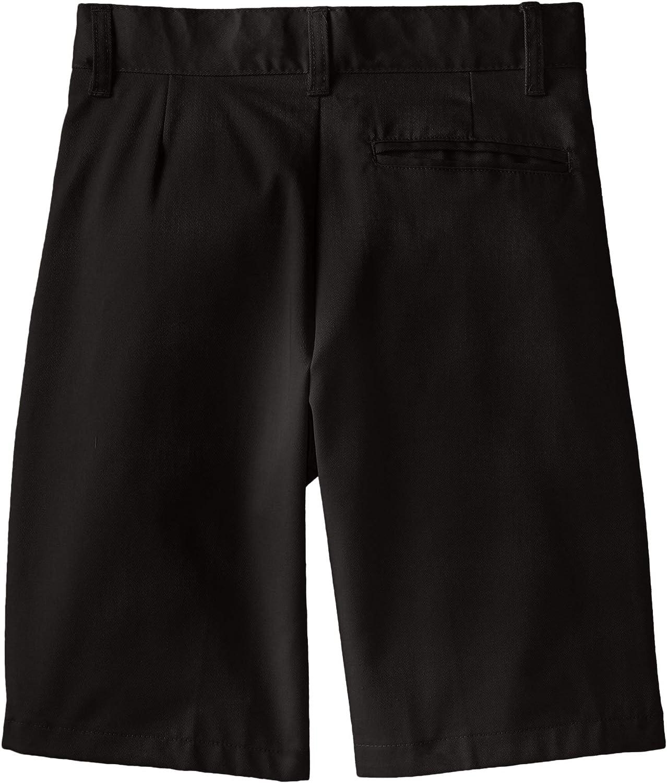 French Toast Boys Basic Flat-Front Short with Adjustable Waist