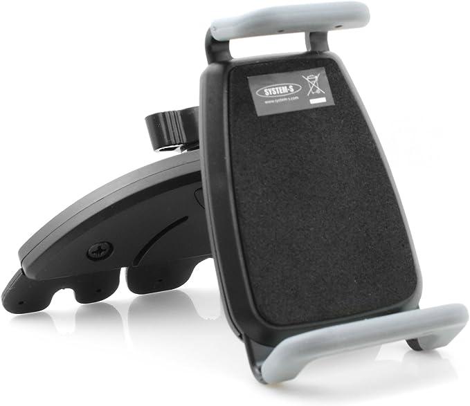 System S Kfz Auto Universal Cd Schlitz Halterung Halter Mount Ca 70 Mm 95 Mm Für Smartphone Handy Navi Gps Elektronik