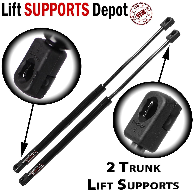 Amazon com qty 2 infiniti g37 2007 to 2013 q60 2014 to 2015 convertible trunk lift supports automotive