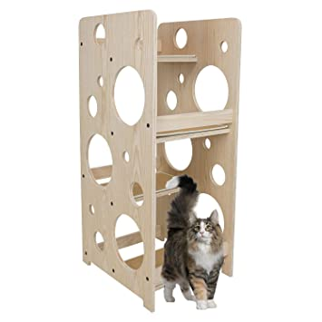 cool cat tree furniture talk3d frontpet bubble cat tree tower 23 18 48 hcat amazoncom