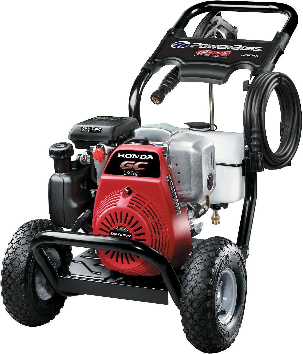 PowerBoss 3100 MAX PSI at 2.4 GPM Gas Pressure Washer with Detergent Tank