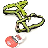Kong On The Go ADJUSTABLE HARNESS (Extra Small, Green)